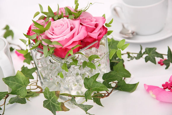 SH2 Short flower centrepieces