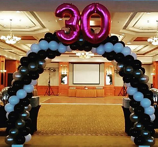 SPIRAL BALLOON ARCH WITH NUMBER.png