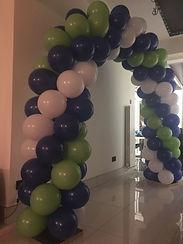 Balloon arch Slough