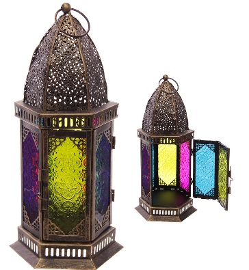 LC3 Moroccan style lanterns
