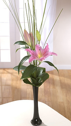 Lily corporate flower arrangement