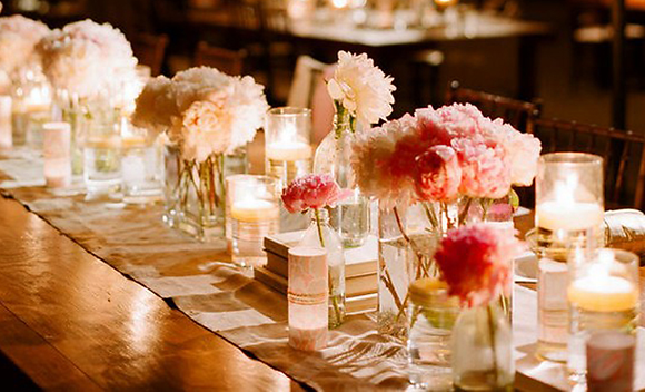 Head table flower display