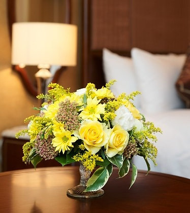 SH15 Yellow and white flower bouquet