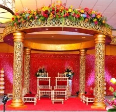 M1- Mandap decorations