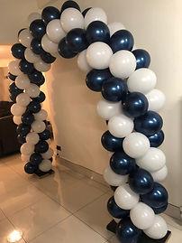white and blue balloon arch.JPG