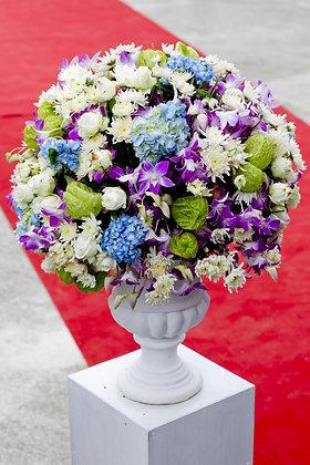Wedding flower display