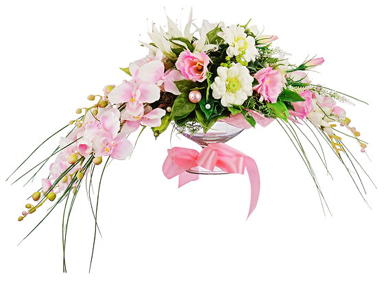 W3  Head  table flowers for wedding
