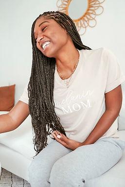 Melanin Mom T-shirt (Short Sleeve)