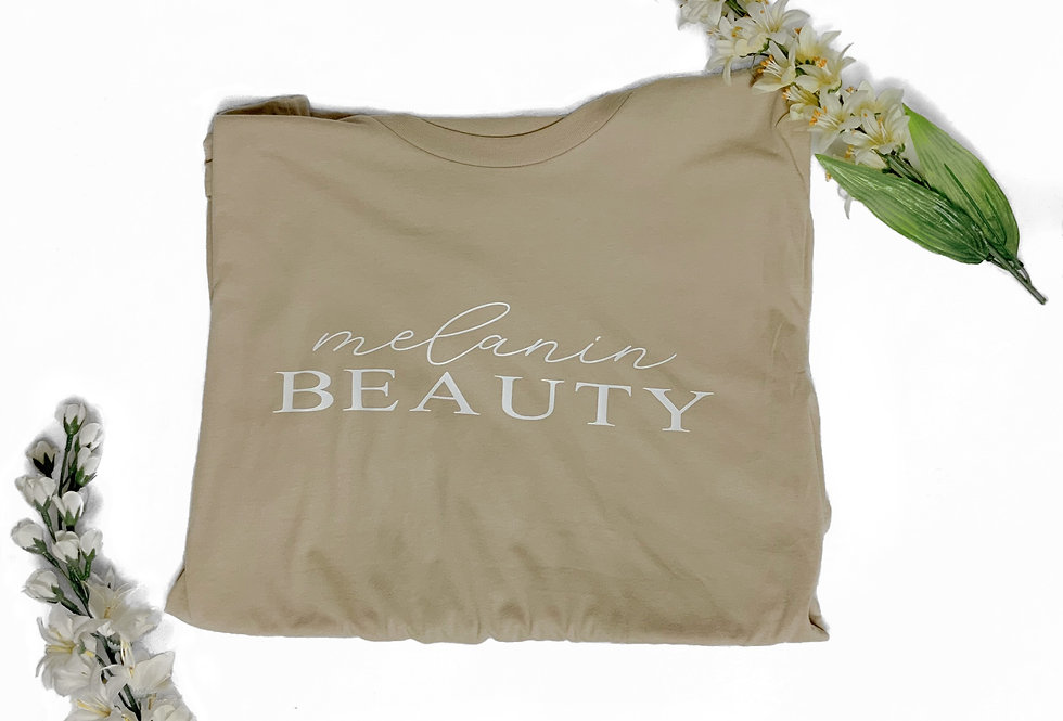 Melanin Beauty T-shirt (Short Sleeve)