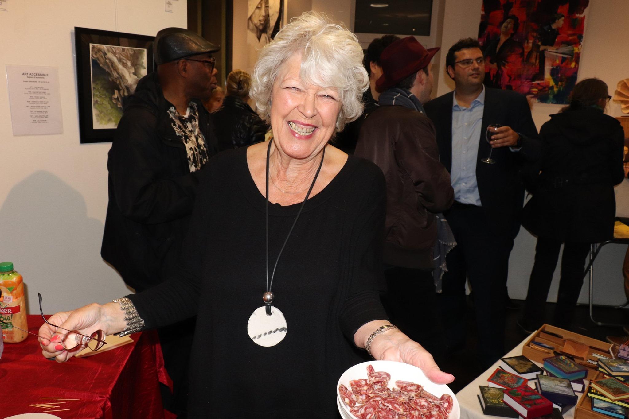 Maria ARAM, organisatrice de l'expo