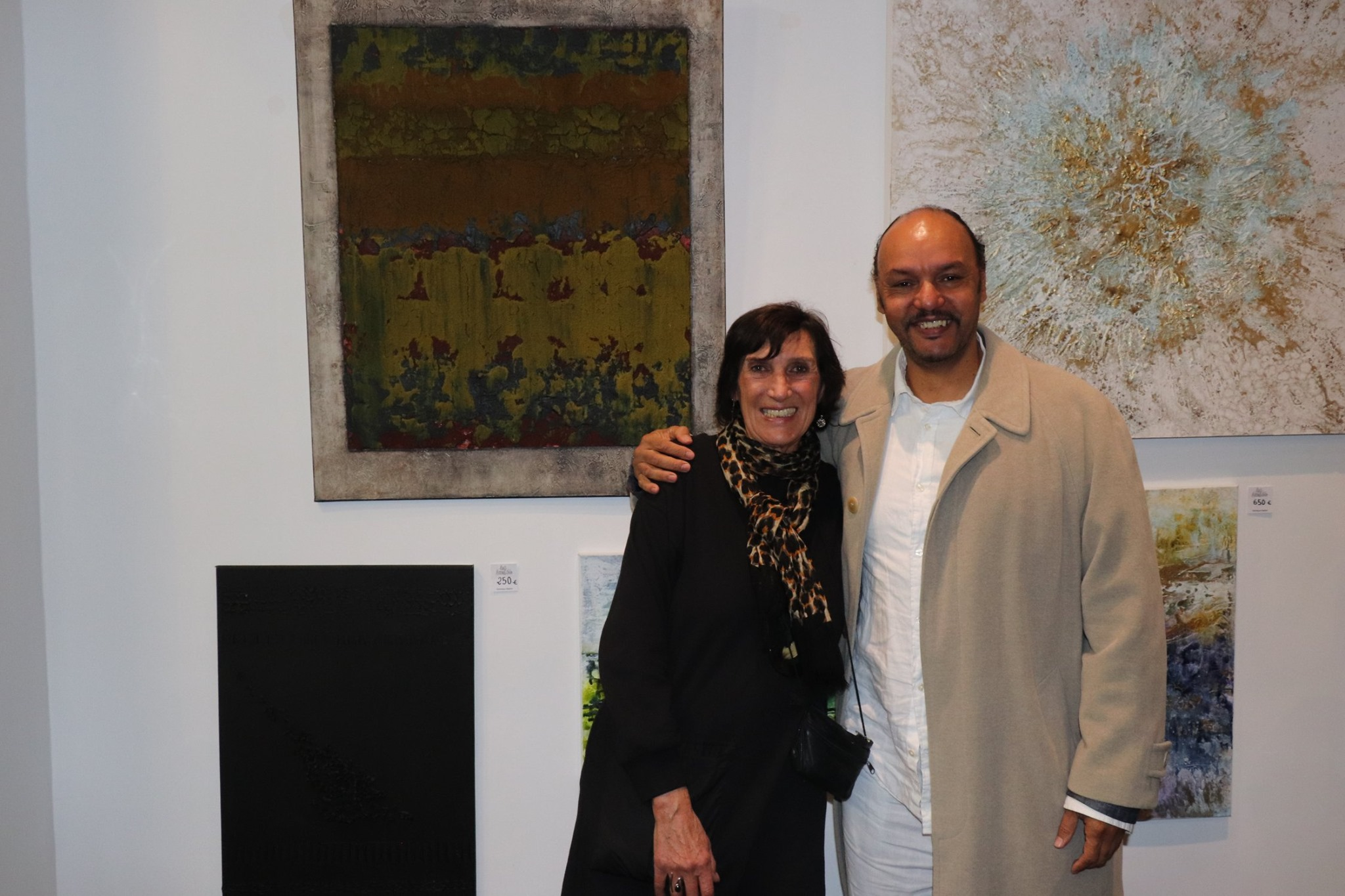 Avec Serge Michel NEF