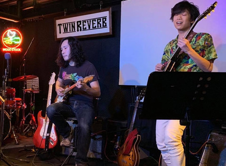 7/15 今堀良昭+中澤一陽Guitar Duo Live