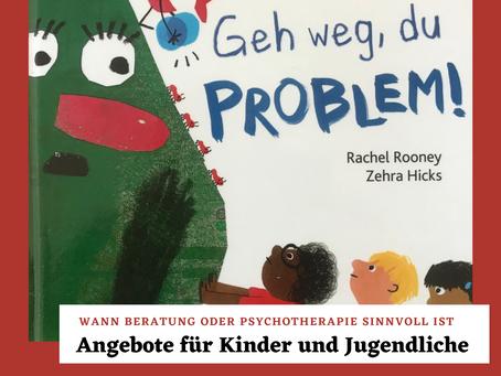 """""""Geh weg, du Problem"""" von Rachel Rooney und Zebra Hicks - Bilderbuchtipp"""