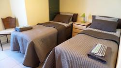 Sovrum med sköna sängar
