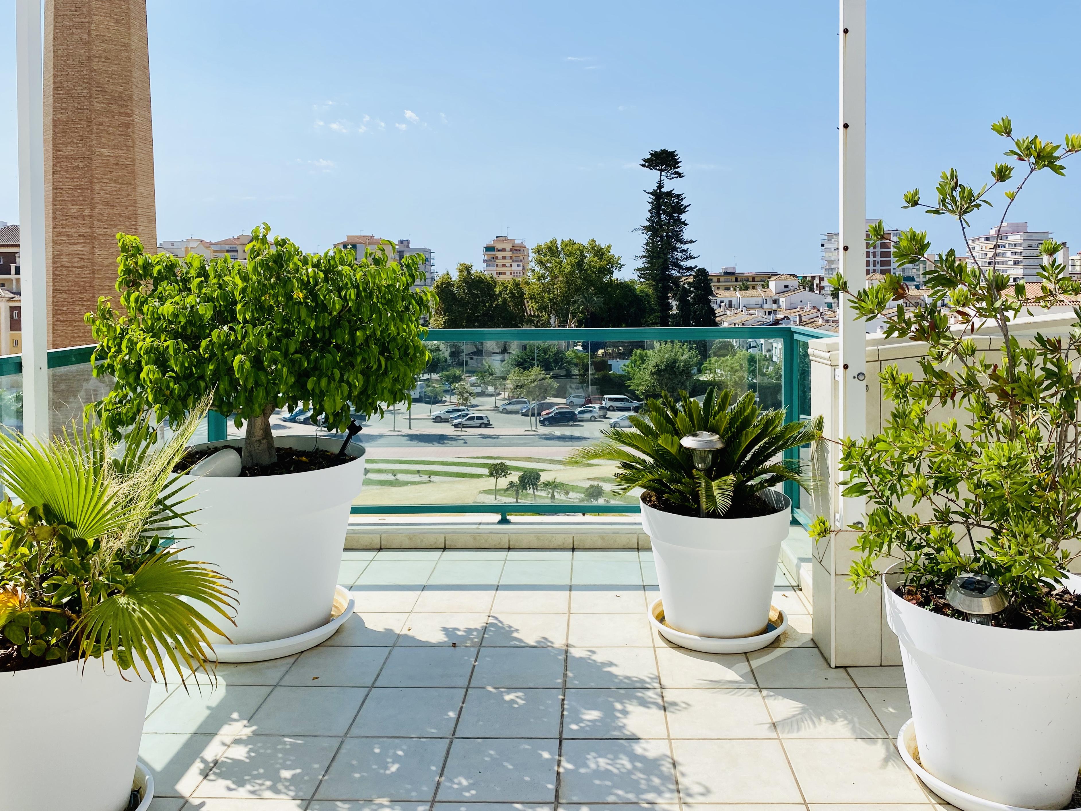 Utsikt terrass