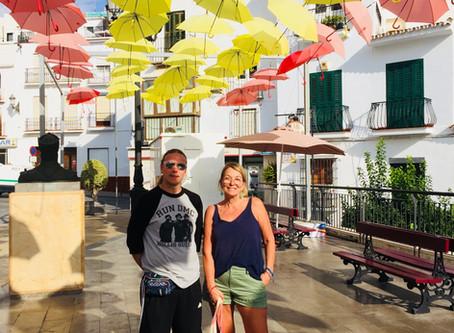 Torrox Pueblo - staden med paraplytorget