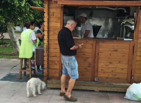 Churros - spansk frukost