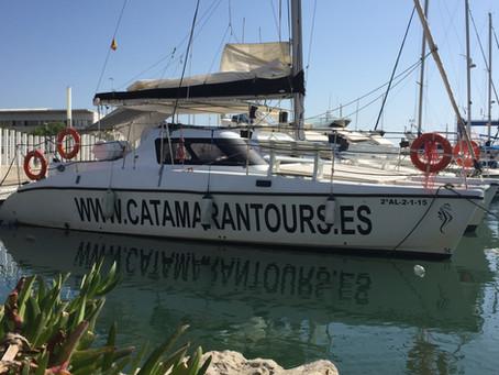 Katamarantur från Caleta