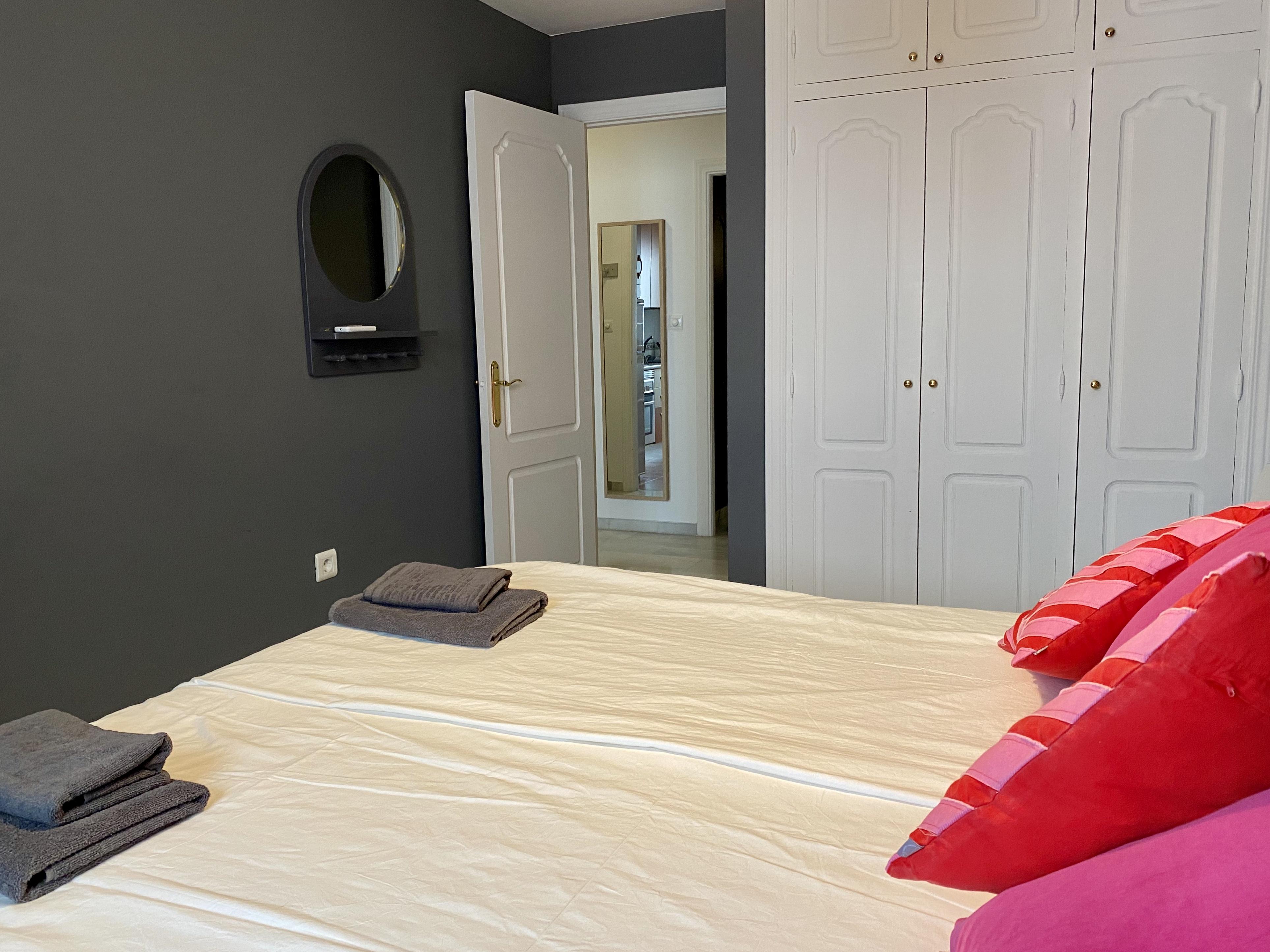 Garderob i sovrum