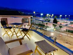 Kväll på terrassen
