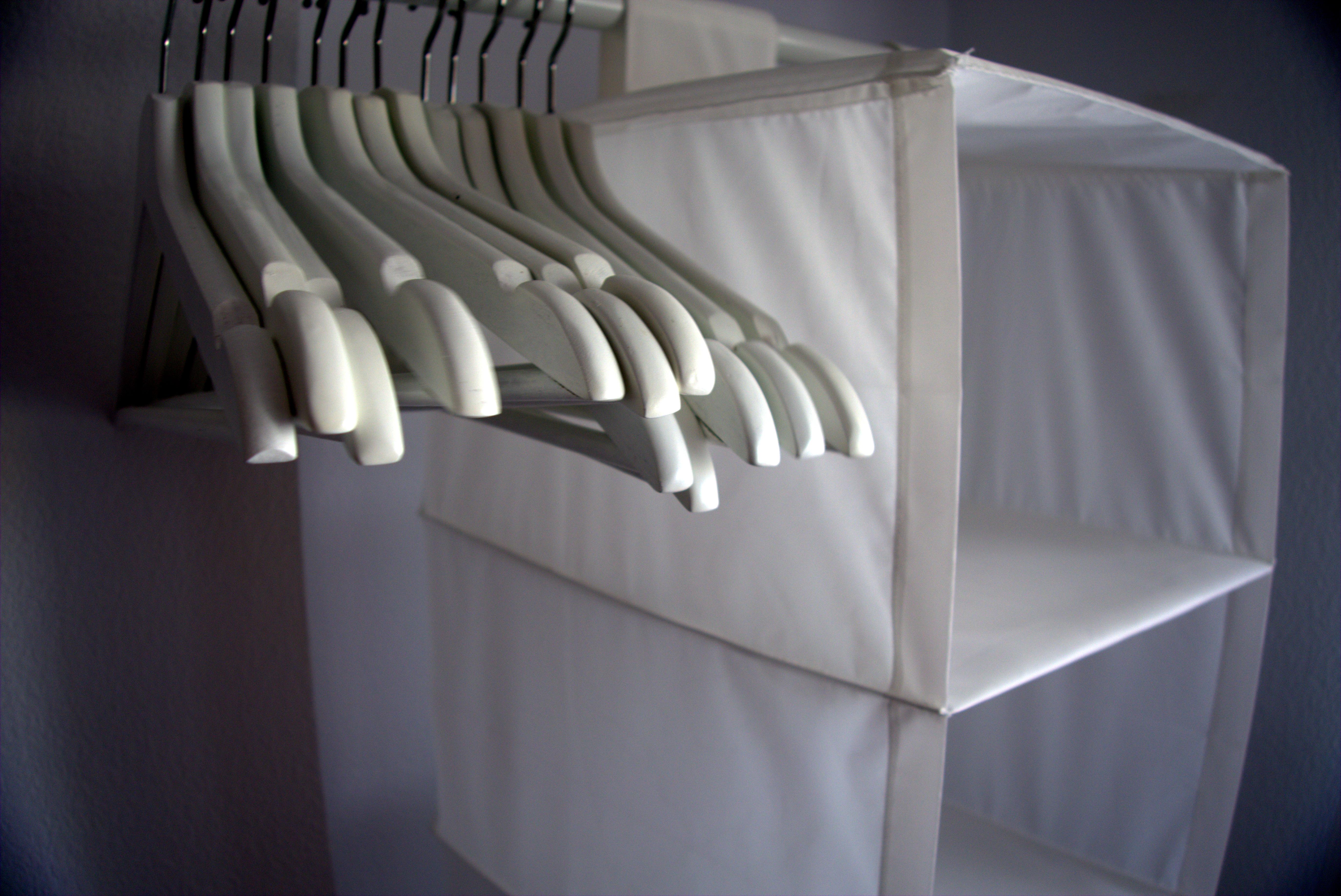 Enklare klädförvaring