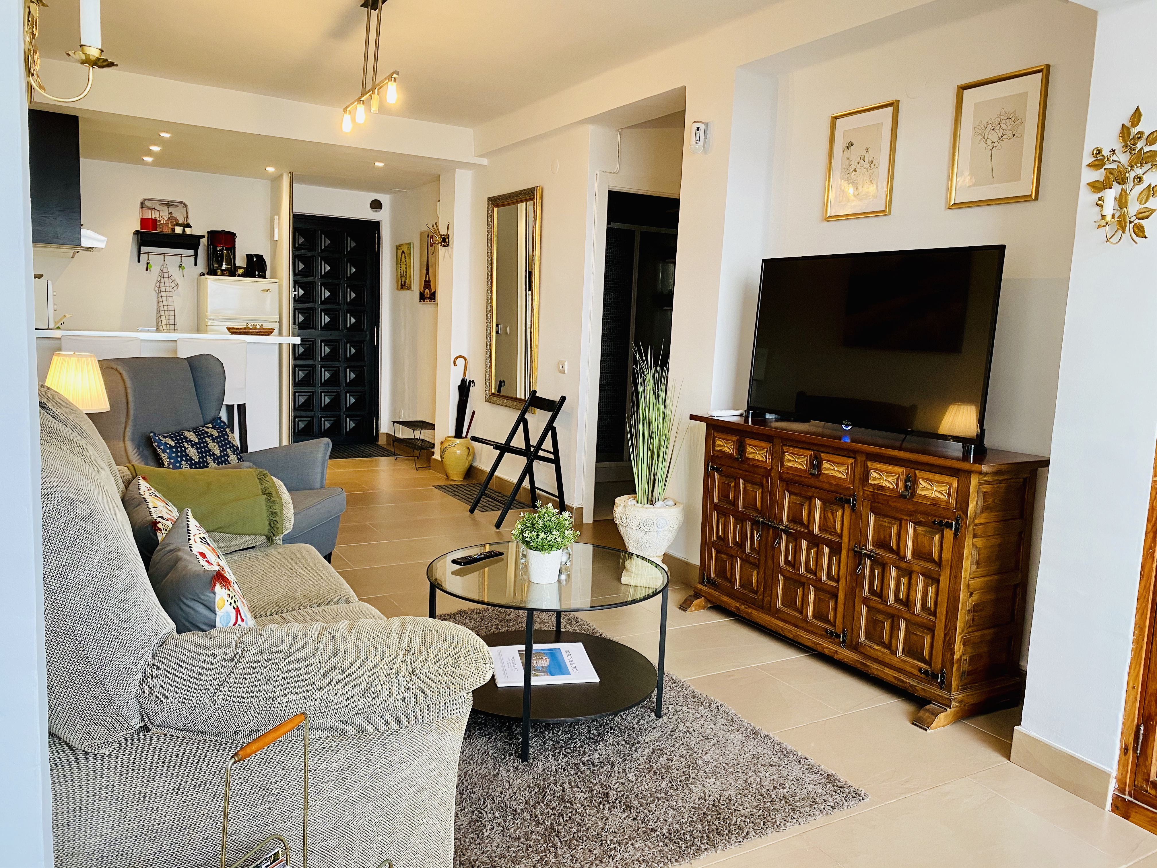 TV i vardagsrum