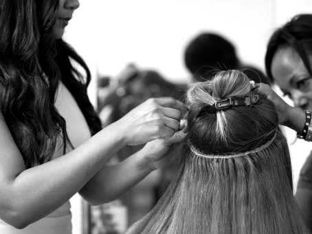 The Braided weave hair extensions!