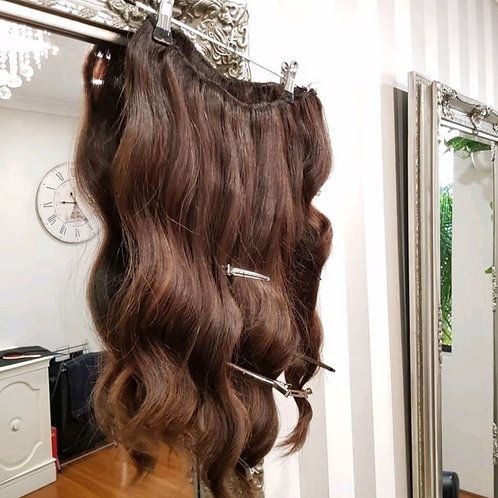 CUSTOMISED CLIP-IN HAIR extensions