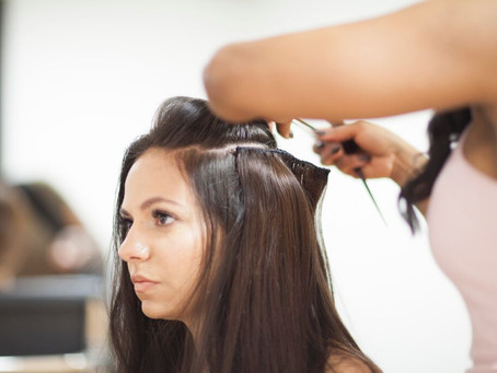 The benefits of wearing customised, hand-made clip in hair extensions!