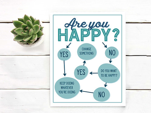 Happiness flow chart  | Printable art happiness diagram mindfulness happy life choose happiness