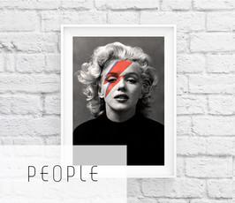 Printable celebrity art