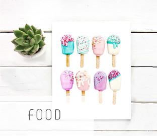 Food printable art