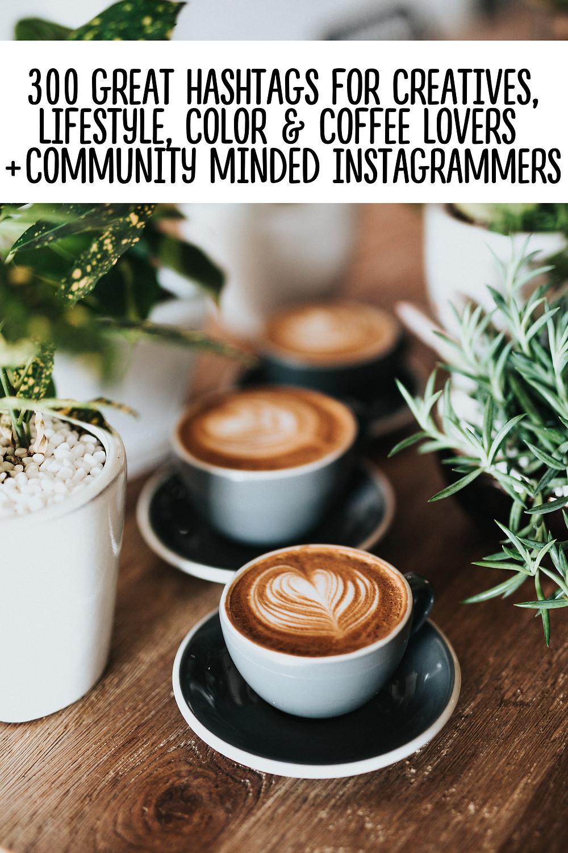 Best Instagram hashtags for creatives entrepreneurs