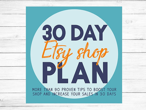 etsy shop plan, etsy advice, how to run an etsy shop, etsy success