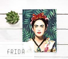Printable Frida Kahlo art