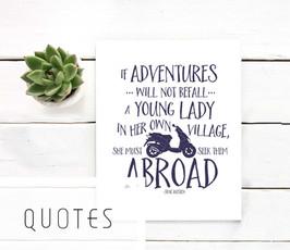 Printable quote art
