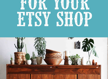 20 Actionable Etsy Shop tips you can use right now.