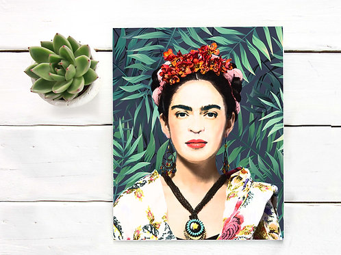 Frida, Kahlo, Frida Kahlo, Watercolor, Mexican, artist, printable art, printable, wall art, art print