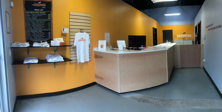 Front Desk for the Kansas City Pet Grooming Project