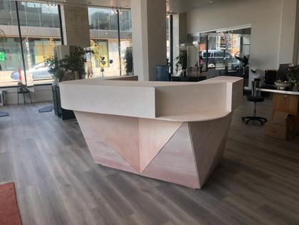 Front Desk for Lumine Salon