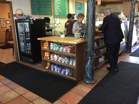 Front Counter for Bella Napoli