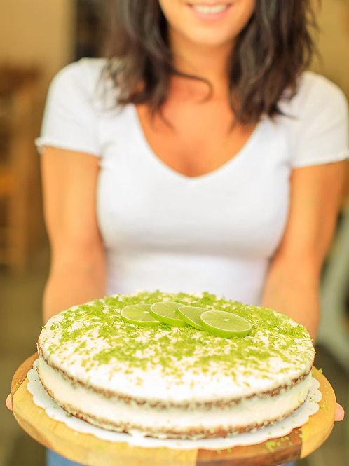 Layer cake citron vert & thé matcha