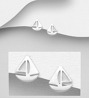 Sterling Silver Sailing Boat