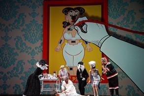 Contessa di Folleville in Il viaggio a Reims   Theater Kiel  Photo Credit: Olaf Struck