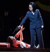 Madame Mao in Nixon in China   San Francisco Opera  Photo Credit: Cory Weaver