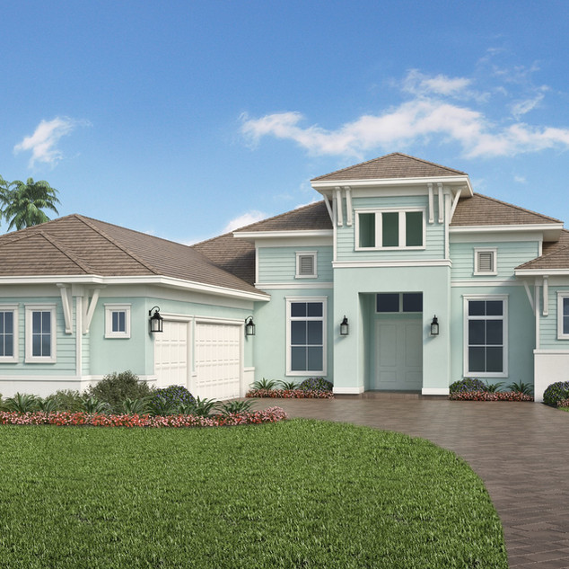 Muirfield IV Stock Home Model