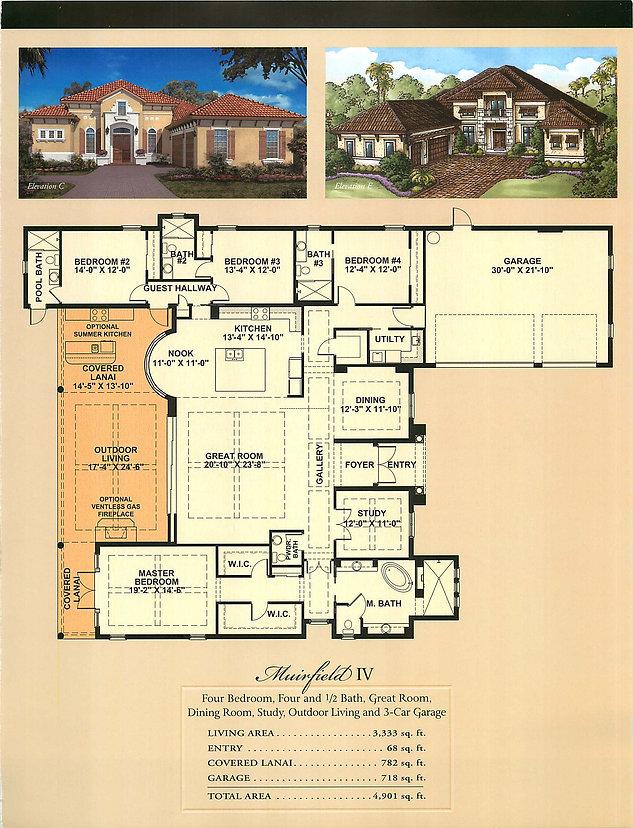 Murfield IV Floor Plans