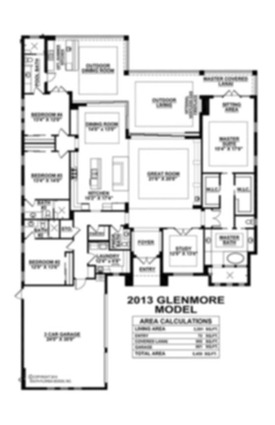 glenmore floor plan Esplanade Stock home