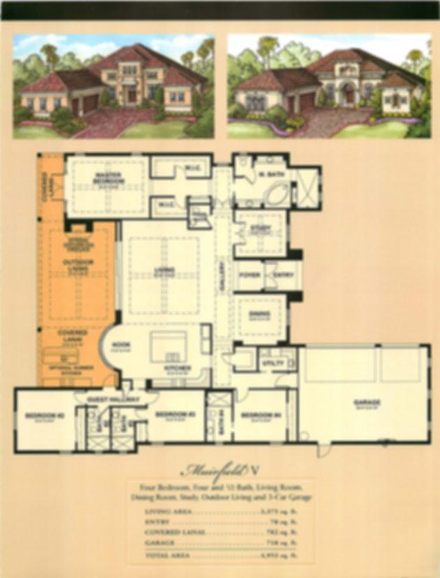 Muirfield V Floor Plans