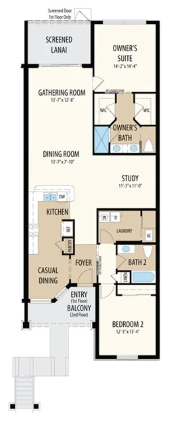 Caserta VII Floor Plan